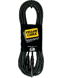 Yellow Cable M10J mickabel jack/XLR (ABMECOM10J) - Huigens Music