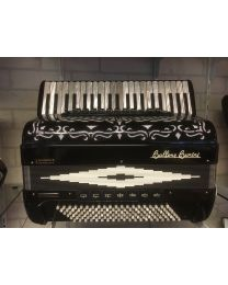 Accordeon Ballone Burini Model 46 zwart