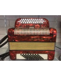 Occasion Accordeon Hohner Amati 3 rijen