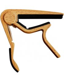 CLX Music Capo Nylon WOOD light