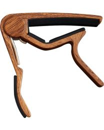 CLX Music Capo Steel WOOD dark