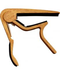 CLX Music Capo Steel WOOD light