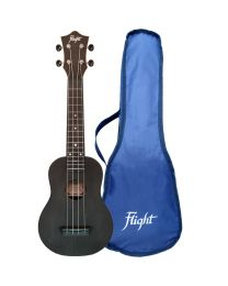 Flight TUS-35 BK Travel Sopraan Ukulele