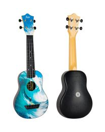 Flight TUS25 Surf Travel Sopr. Ukulele