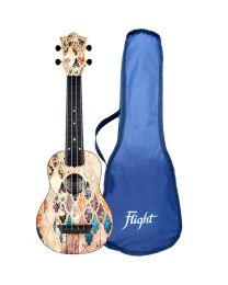 Flight TUS40 Granada Travel Sopr Ukulele