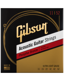 Gibson Acoustic Guitar Strings Ph.Br.011