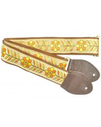 Souldier Anja OR GD YL Guitarstrap (MUSSL0044) - Huigens Music