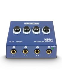 LD Systems HPA4 Headphone Amplifier 4cha