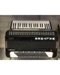Accordeon Walther Commodore 120 zwart