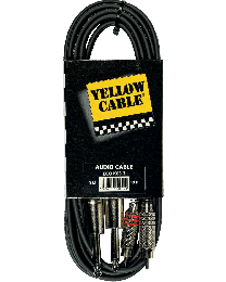 Yellow Cable K03 3meterkabel 2RCA/2jack (ABMECOK03) - Huigens Music