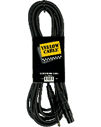 Yellow Cable M05J mickabel jack/XLR