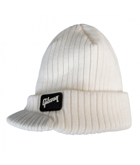 Gibson Radar Knit Beanie White