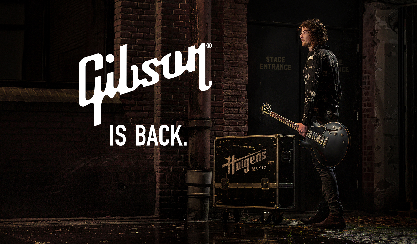Gibson is back! Huigens Music