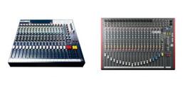 Mengpanelen en mixers bij Huigens