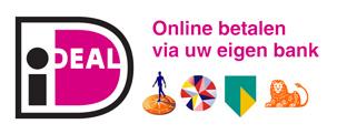 Bij Huigens Music kun je met iDeal betalen